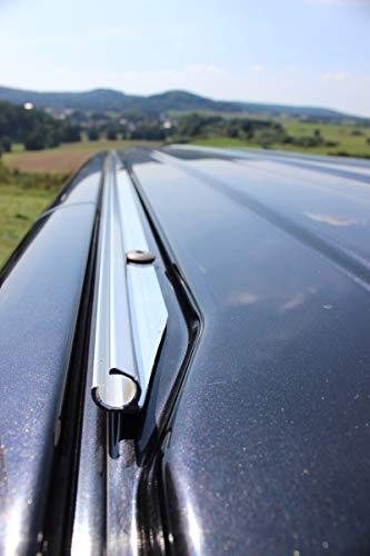 streetandtrack Kederschiene Kederleiste für VW Bus T5 T6 k.Radst. Beifahrer Sonnensegel Vorzelt