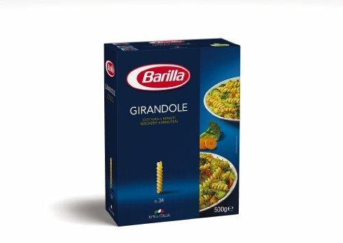 4x Barilla Nudeln 'Girandole' n.34, 500 g