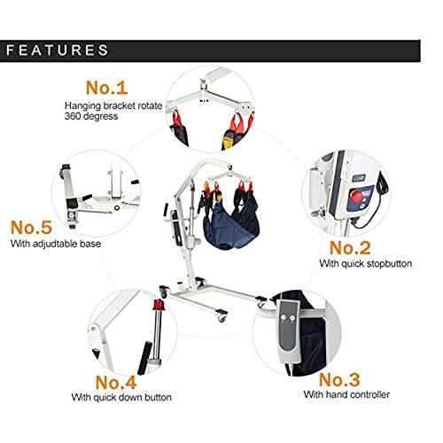 41+dPwl4mqS. SL500  - JFNV-Grúa Eléctrica para Elevación Y Traslado De Pacientes,Fácil De Usar para Minusválidos, Personas Mayores,Soporta 200Kg