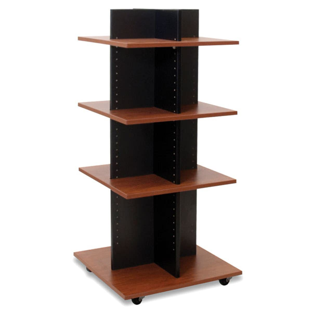 Black Shelf Tower Knock Factory outlet Outstanding Down with Cherry x W 5 Shelves D 24