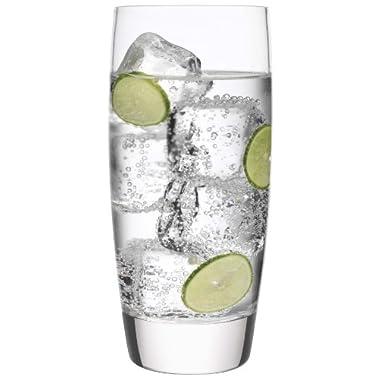 Luigi Bormioli Michelangelo Cooler/Iced Tea Glass, 20-Ounce, Set of 6