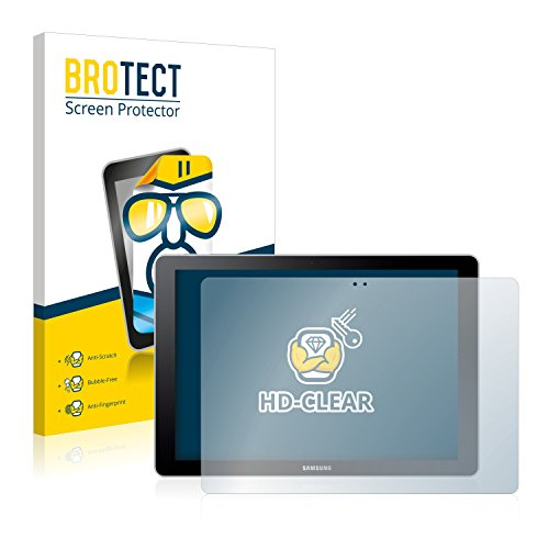 BROTECT Schutzfolie kompatibel mit Samsung Galaxy Book 10.6 (2 Stück) klare Bildschirmschutz-Folie