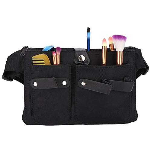Hair Stylist Scissors Holder Pouch Cases, Hairdressers Salon Multiple Pocket Barber Hairdressing Tool Organizer Bag for Storage Haircutting Scissors/Shears, Clippers, Styling Combs