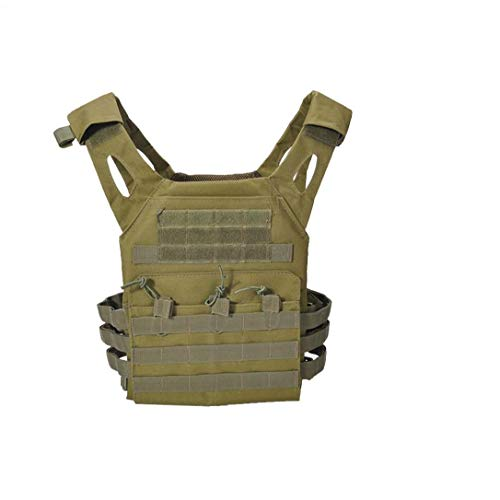 DierCosy Tools Tactical Vest, Heavy Duty Tactical Camouflage Chest Protector, Protective Vest Modular Chest Set Vest for Hunting Outdoor