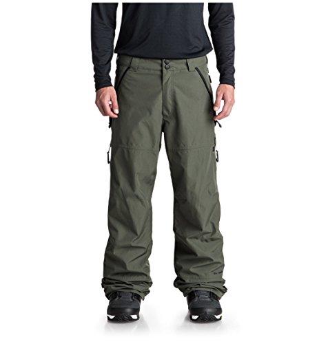 DC Men's Nomad 30K Snow Pant, Beetle, XL