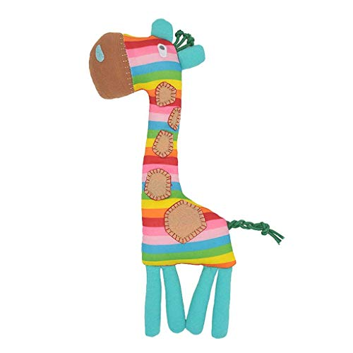Dergo  brain game ,Cute Baby Rattle Giraffes Plush Baby Cartoon Baby Toy Education Baby Rattle