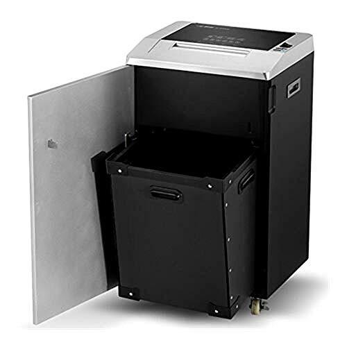 Destructora Trituradora de Papel Papel Industrial Shredder largo tiempo de oficina Trituradora de papel grande y 3x25mm Documento Comercial de partículas Shredder Shred (fragmento 35 hojas / hora)