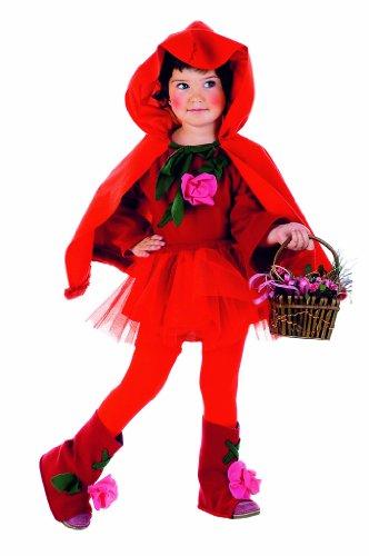 Limit Sport mb216 Baby – Costume Petit Chaperon Rouge 3 pièces (Rock Bottes de Robe avec cape Lina)