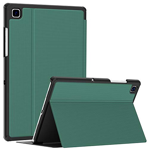 Soke Funda para Samsung Galaxy Tab A7 10.4 (2020 Modelo SM-T500 / T505 / T507), Folio Slim TPU Smart Cover Cover Cover Cover para Samsung Galaxy Tab A7 10.4 pulgadas Azul lago