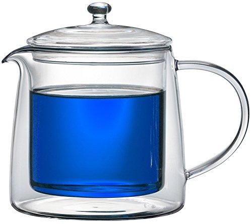 Teekanne 613482 Teekrug Karaffe Tee-Kanne Thermoglas 500 ml doppelwandig Modell Lenny für Heiß- und Kaltgetränke (500ml) - 5
