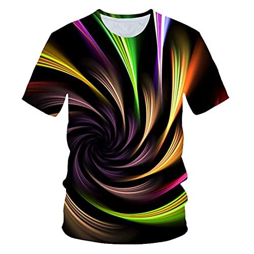 SSBZYES Camiseta De Verano para Hombre Camiseta De Manga Corta para Hombre Camiseta De Cuello Redondo Camiseta De Manga Corta con Estampado De Moda Camiseta De Gran Tamaño para Hombre Camiseta Casual
