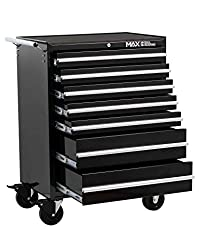 7 drawer rollaway cabinet has a heavy duty all steel construction Comes with ball bearing slides and positive stop Key locking facility with full length aluminium drawer pulls, chrome side handles and lockable casters 5-inch casters with reinforced c...