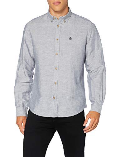 Springfield Classic Linen Camisa Casual para Hombre