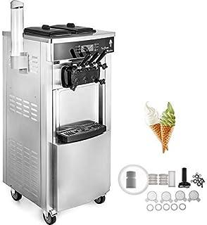 VEVOR Machine à Crème Glacée Enfant Verticale Professionnel Sorbetière à Glace Ice Cream Machine Appliqué dans Les Restaur...