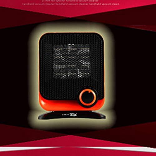 RHNE Ventiladores de Calentador eléctrico de 220 V Mini Calentador de Espacio PTC Ventilador eléctrico de Invierno para el hogar, Oficina, baño, Calentador de Escritorio, Enchufe Naranja CN