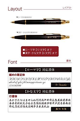 PARKERIM名入れボールペン7特盛ギフトセットブラック
