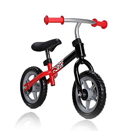 YWJPJ. Bicicleta de Equilibrio para niños, pequeña Bicicleta sin Pedales para Caminar, Juguetes para niños con Asiento Ajustable, para Regalos de cumpleaños de niños/niñas de 2 a 6 años
