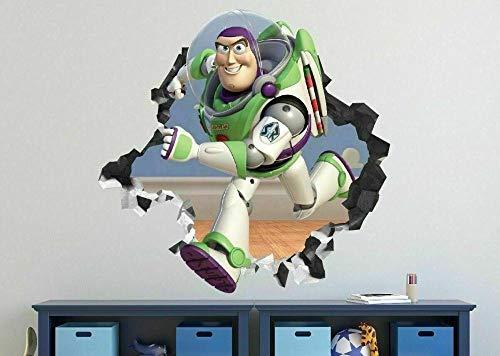 Pegatinas de pared Personalizado Cualquier nombre Calcomanía de pared congelada Pegatinas de arte 3D Habitación de vinilo Dormitorio 10 Pegatinas decorativas 50 * 70cm