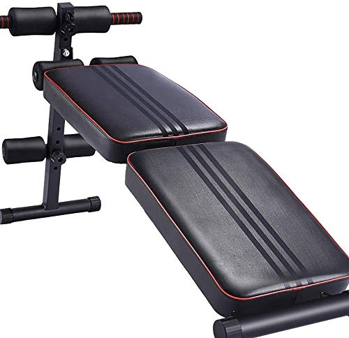 Candtong Gewichtheben Bett, Sit-up Hantel Bank Übung Bauch- / Super Rückenübung Tisch Fitness einstellbar sit-up Stretching, nach Hause Fitnessgeräte