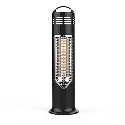 Mensa Heating Imus Under Table Infrared Heater – Black 550w