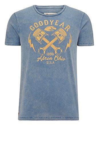 Goodyear Meaford T- Sport-T-Shirt, Herren, Marineblau, FR: S (Größe Hersteller: S)