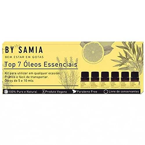 Kit Top 7 Óleo Essencial By Samia…