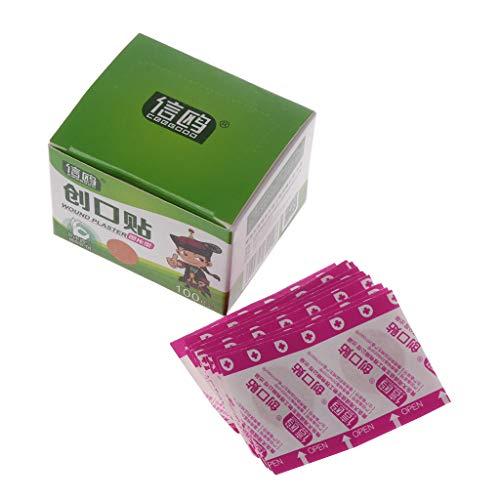 Bandage für Wundpflaster, rund, selbstklebend, 22 mm, 100 Stück