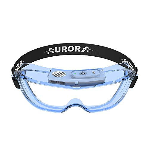 Anti-Fog Protective Safety Goggles, Clear Lens Fog-Free Anti Scratch and Wide-Vision Adjustable Chemical Splash Eye Protection Soft Lightweight Eyewear