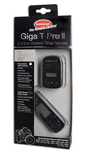 Hähnel Giga T Pro II Funk-Fernauslöser für Nikon D7000 / D5100 / D5000 / D700/ D300(s) / D200 / D90 / D80 / D70s / D3 / D3s / D2X / D2X / D2H / D2Hs / D1X / D1H