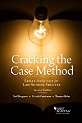 Cracking the Case Method, Legal Analysis for Law School Success (Career Guides) Kindle Edition