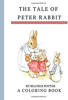 Peter Rabbit Coloring Book