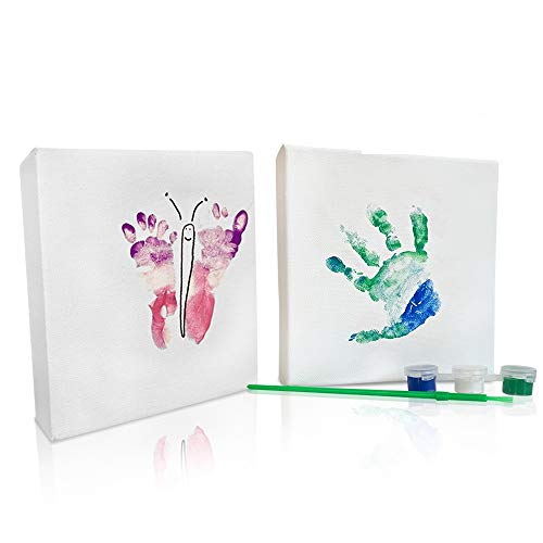 Baby Handprint and Footprint Kit - Baby Keepsake - Baby Safe...