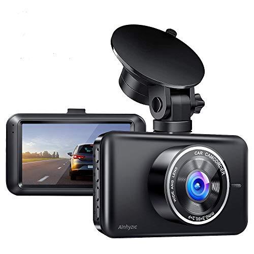 Ainhyzic Dash Cam for Cars 1080P Full HD Car Driving Recorder