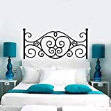 WERWN Pegatinas de cabecera Decoraciones Creativas para Dormitorio en cabeceros de Cama Decoración del hogar Pegatinas de Pared románticas artísticas para Pared