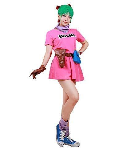 Miccostumes 女性 コスプレ コスチューム ピンク ワンピース ドレス クリスマス イベント
