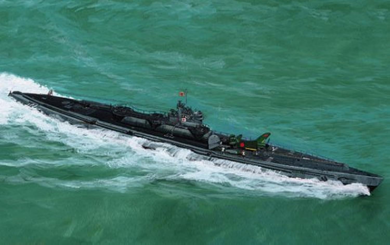 Aoshima 1 700 IJN Submarine I401 (Full Hull) [Toy] (japan import)