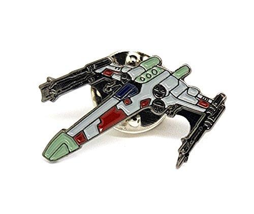27 mm Metall-Emaille-Anstecker Star Wars (Starwars) X-Wing Starfighter (X Wing)
