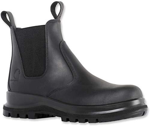 Carhartt Unisex Carter Chelsea Boot, Black, 45 EU