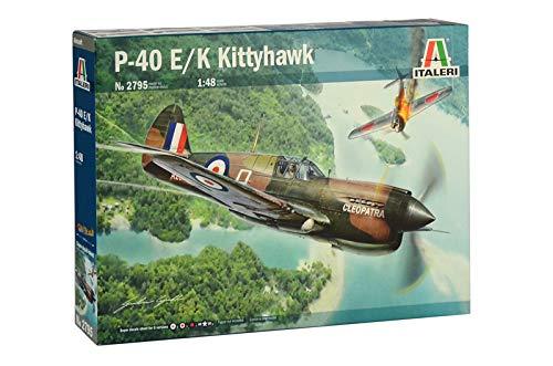 Italeri 2795S 2795S-1:48 P-40E/K - Maqueta de Kitty Hawk