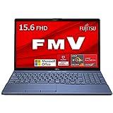 公式 富士通 ノートパソコン FMV LIFEBOOK MS Office 2021 Win 11 15.6型 AMD Ryzen7 8GB 256GB SSD DVD AHシリーズ AZ WABF3 Z941