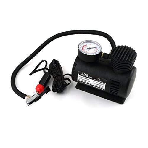 KU Syang Portable 12V Car Auto electrico de aire del neumatico del compresor de la bomba Infaltor 300 PSI Nueva
