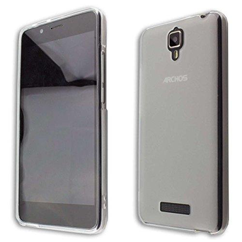 caseroxx TPU-Hülle für Archos 50D Oxygen, Handy Hülle Tasche (TPU-Hülle in transparent)