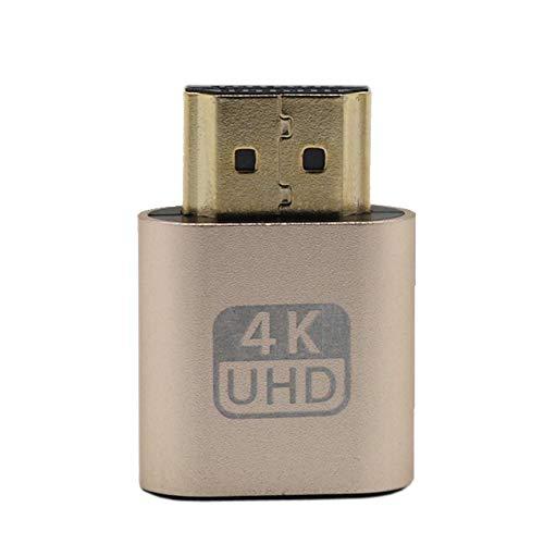 Peanutaoc VGA HDMI Dummy Plug Virtuelle Anzeige Emulator Adapter DDC Edid Unterstützung 1920x1080P Für Grafikkarte BTC Mining Miner