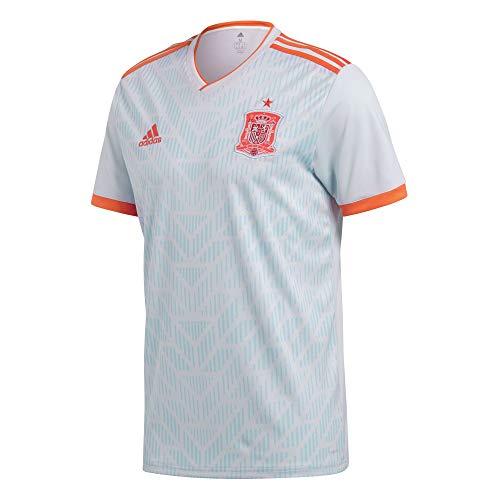 adidas Spain Away Replica Jersey Camiseta Cuello de Pico Manga Corta Poliéster...