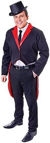 Envio gratis en todas las ordenes TAILCOAT ADULT (negro rojo) by by by Bristol Novelties  tienda de bajo costo