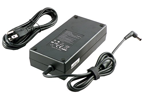 iTEKIRO 180W AC Adapter for CyberPowerPC Tracer III 15 15R 15Z 17 17R 17S Slim Xtreme VR, VR100 VR200 VR300 VR400 VR500 VR600 VR700; Fangbook AX7 HX7 HFX7 KLX6 KLX7 SX6 SX7; Xplorer M3 X5 X6; P35WV4