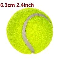 9.5インチ犬テニスボールジャイアントペットおもちゃ犬用咀wing玩具署名メガジャンボキッズおもちゃボール用犬トレーニング用品ドロップシップ (Color : 6.3cm 2.4inch, Size : As show)