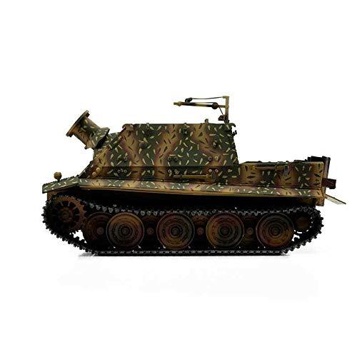 RC Auto kaufen Kettenfahrzeug Bild 5: Torro 3819-I - Sturmtiger Panzer mit Metallunterwanne IR, hinterhalt tarnlackierung*