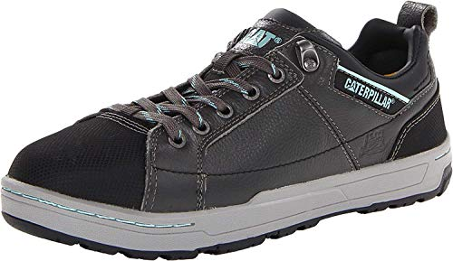 Caterpillar Women's Brode Steel Toe Work Shoe,Dark Grey,5 M US