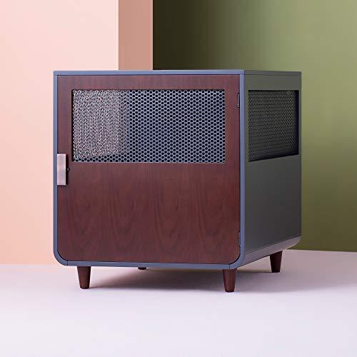 Staart - Radius Wooden Dog Crate - Mocha Walnut - Large Basic Crates